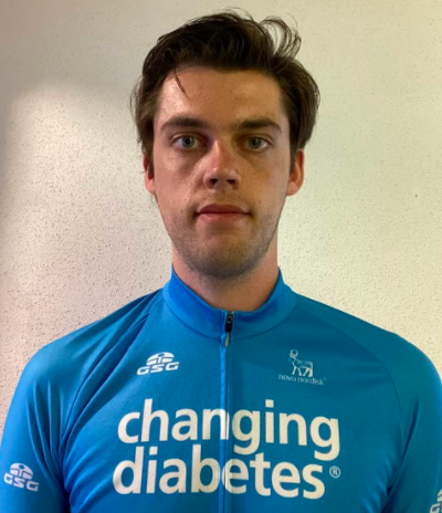 Casper Heerschop | All-Diabetes Pro Cycling Team | Type 1 Diabetes | Team Novo Nordisk