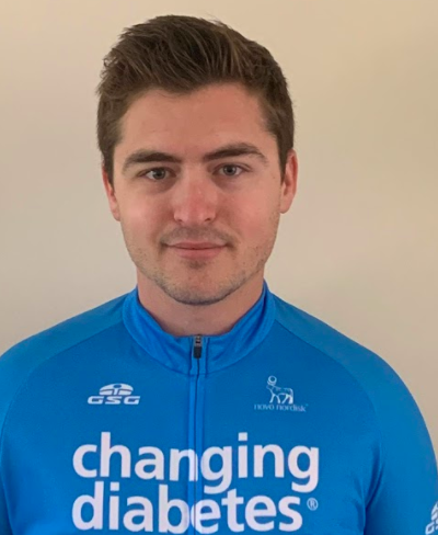 Brendan Jones | All-Diabetes Pro Cycling Team | Type 1 Diabetes | Team Novo Nordisk
